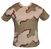 Military Desert Tri Colour T-Shirt