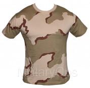 Military Desert Tri Colour T-Shirt