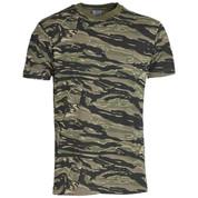 Military Woodland Tiger Stripe T-Shirt