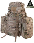 BTP Tactical Assault Pack with Side Pouches Multicam MTP