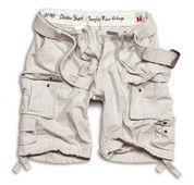 Surplus Division Shorts Off White
