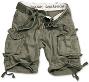 Surplus Division Shorts Olive Green