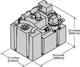 HTS 40 gallon holding tank system  004000