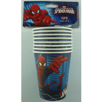 The Ultimate Spiderman Cups Pk8