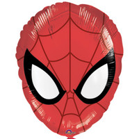Spiderman Face 43cm  Foil Balloon