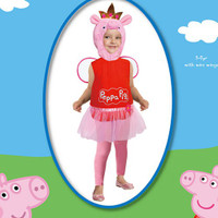 Peppa Pig Costume Suit