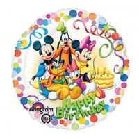 45cm 'Happy Birthday' Mickey & Friends Foil