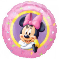 45cm Minnie Mouse Portrait Foil Balloon