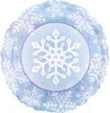 45cm Snowflake Foil Balloon