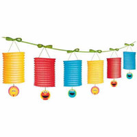 Sesame Street 1st Birthday Lantern Garland