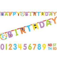Sesame Street 'Happy Birthday' Letter Banner