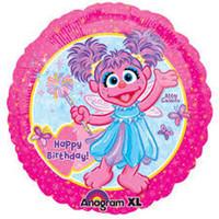 Sesame Street 45cm Abby Cadabby Foil Balloon