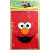 Elmo Lootbags Pk 6