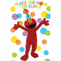 Place the Nose on Elmo Party Game