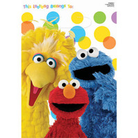 Sesame Street Lootbags Pk 8