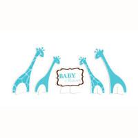 Wild Safari Baby Shower Centrepiece