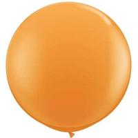 Large Standard Orange Balloon 90cm Latex