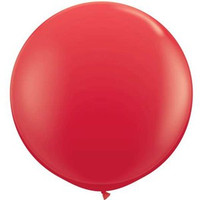 Large Standard Red Balloon 90cm Latex