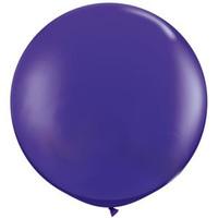 Large Purple Violet Balloon 90cm Latex
