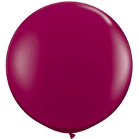 Large Burgundy Balloon 90cm Latex