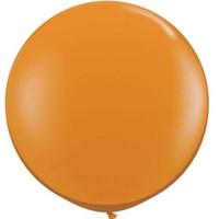 Large Mandarin Orange Balloon 90cm Latex