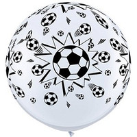 Large Soccer Balls Balloon 90cm Latex