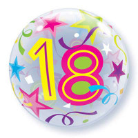 18 Birthday Balloon Bubble