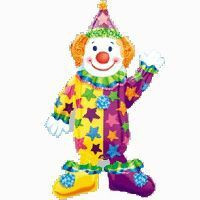 Large Clown Balloon Airwalker