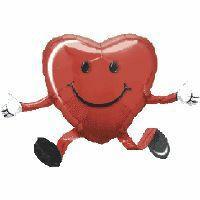 Large Heart Balloon Airwalker