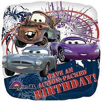 Disney Cars Birthday 45cm Foil Balloon