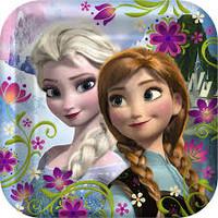 Frozen Disney 9in Plates Pk 8