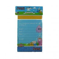 Adventure Time Invitations Pk 8
