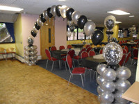 Balloon Arch with 2 pillars