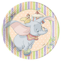 Dumbo Party Plates pk 10