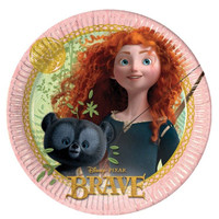 Disney Brave Party Plates Pk 8