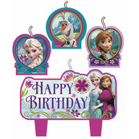Frozen Candle Birthday Set