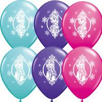 Frozen Latex Balloons Pk 25