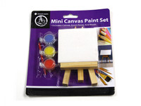 Mini Canvas and Paint Set