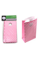 Gift Bag Polka Dot Pink