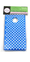 Gift Bag Polka Dot Blue