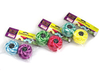 Craft String Coloured Purple and Dark Green Pk 2