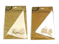 Bunting DIY Set White