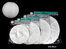 Paper Lantern Round 40cm White