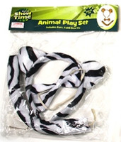 Zebra Animal Play Set