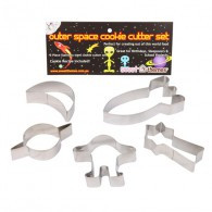 Cookie Cutters Outerspace pack of 5