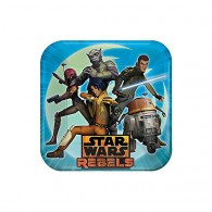 Star Wars Rebels Square Dinner Plates