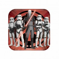 Star Wars Rebels Square Luncheon Plates