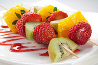 Fruit Kebab Skewer