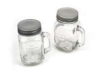 Mason Jar 450ml with Handle
