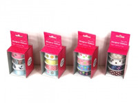 1.6CM FABRIC RIBBON pk 4